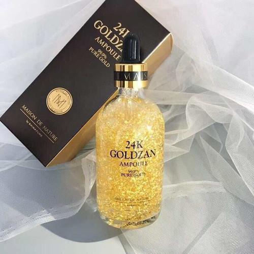 Serum tinh chất vàng 24k goldzan ampoule fure gold 100ml - 16959748 , 11552491 , 15_11552491 , 99000 , Serum-tinh-chat-vang-24k-goldzan-ampoule-fure-gold-100ml-15_11552491 , sendo.vn , Serum tinh chất vàng 24k goldzan ampoule fure gold 100ml