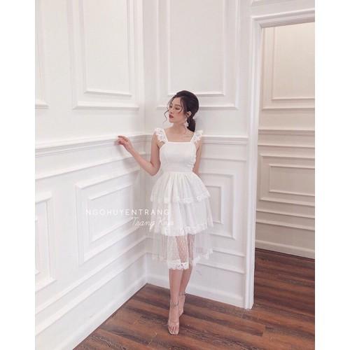 Đầm công chúa 3 tầng