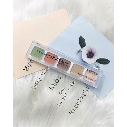 Bảng Che Khuyết Điểm Catrice All Round Concealer Palette - 4413130 , 11309614 , 15_11309614 , 180000 , Bang-Che-Khuyet-Diem-Catrice-All-Round-Concealer-Palette-15_11309614 , sendo.vn , Bảng Che Khuyết Điểm Catrice All Round Concealer Palette