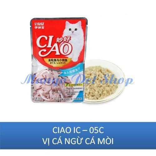 Pate Cho Mèo Ciao Vị Cá Ngừ Cá Mòi Gói 60Gr - 5122132 , 11307435 , 15_11307435 , 15000 , Pate-Cho-Meo-Ciao-Vi-Ca-Ngu-Ca-Moi-Goi-60Gr-15_11307435 , sendo.vn , Pate Cho Mèo Ciao Vị Cá Ngừ Cá Mòi Gói 60Gr