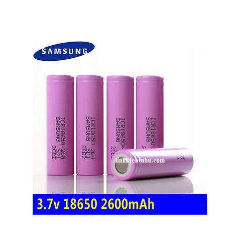 PIN 18650 SAMSUNG 2600MAH 3.7V