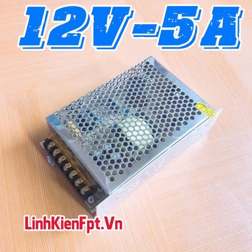 Linh kiện điện tử Nguồn Tổ Ong 12V 5A - Nguồn Tổng Led Quảng Cáo , Camera