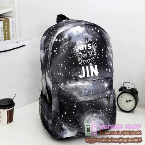 Balo BTS giá rẻ, đẹp màu galaxy Jin- cặp sách học sinh ARMY KPOP - 10818282 , 11293031 , 15_11293031 , 230000 , Balo-BTS-gia-re-dep-mau-galaxy-Jin-cap-sach-hoc-sinh-ARMY-KPOP-15_11293031 , sendo.vn , Balo BTS giá rẻ, đẹp màu galaxy Jin- cặp sách học sinh ARMY KPOP