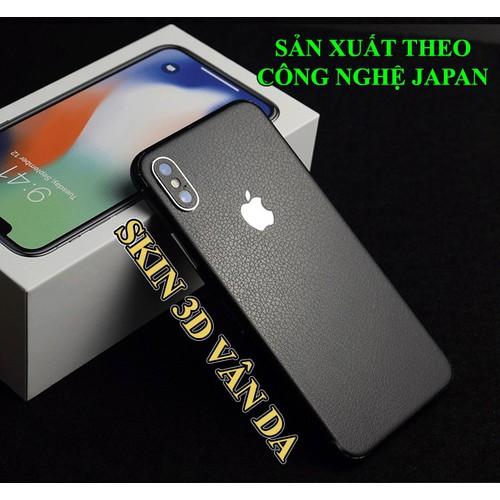TẤM DÁN VÂN DA IPHONE X