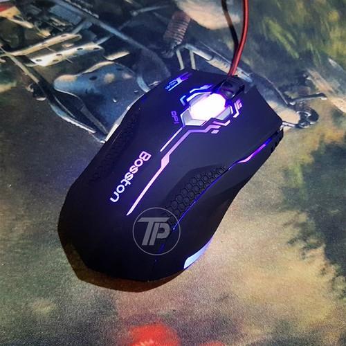 Chuột chính hãng Gaming Boss Led Đổi Led + Bàn di chuột