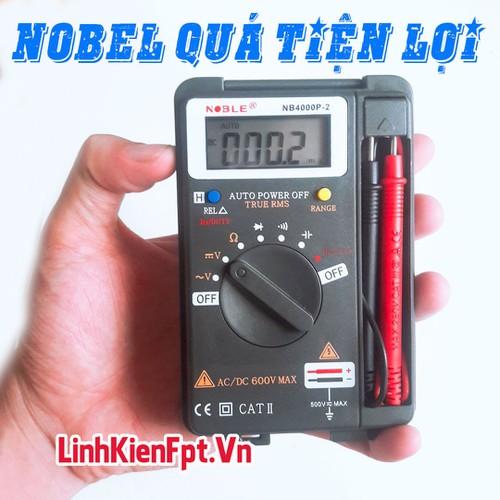 Linh kiện điện tử Đồng Hồ Đo Vạn Năng NOBEL - Thợ Điện Tin Dùng , Chất Lượng