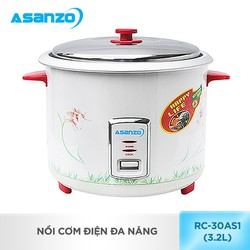 NồI cơm điện đa năng Asanzo RC-30AS1 - 3.2 lít