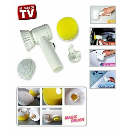 Máy vệ sinh làm sạch vết bẩn 5 trong 1 Magic Brush - 10824077 , 11321465 , 15_11321465 , 185000 , May-ve-sinh-lam-sach-vet-ban-5-trong-1-Magic-Brush-15_11321465 , sendo.vn , Máy vệ sinh làm sạch vết bẩn 5 trong 1 Magic Brush