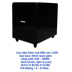 Loa sub điện AM - 1200