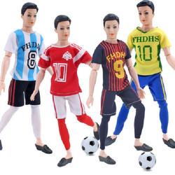 set 4 bộ trang phục thể thao cho búp bê ken