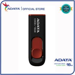 USB Adata C008 16GB 2.0 Đen đỏ