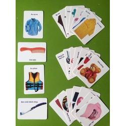 bộ thẻ học thông minh 16 chủ đề - 416 chủ thẻ cho bé