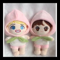 Mông đào - 20cm - Doll V doll Jungkook doll bts búp bê đào
