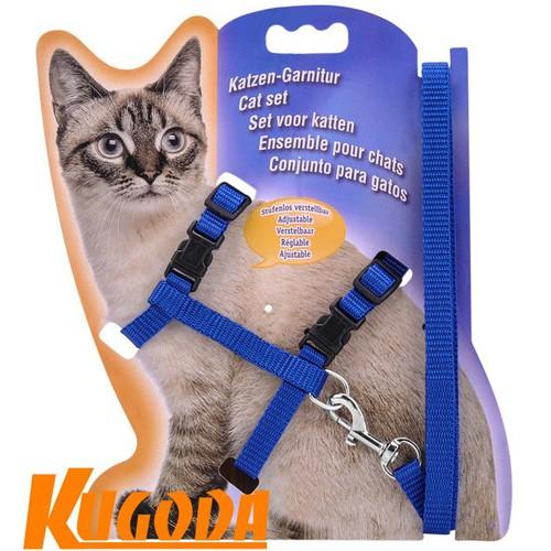 Dây dắt mèo 3 CAT Kugoda dài 120cm x 1cm