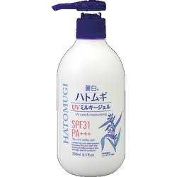 Sữa Dưỡng Thể Và Chống Nắng Hatomugi Hạt Ý Dĩ 250ml Nhật Bản
