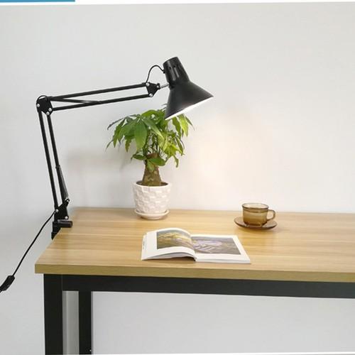 Đèn kẹp bàn PIXAR loại có thanh sọc thoát nhiệt cao cấp - Kèm bóng LED