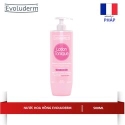 Nước hoa hồng 500ML Evoluderm Lotion Tonique Peaux Sensibles - 3069