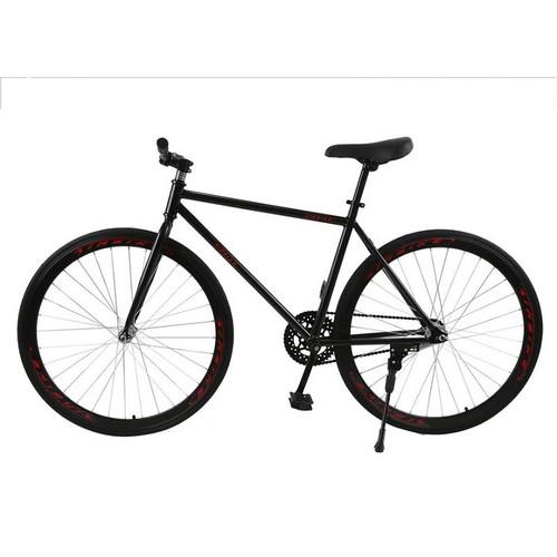 Xe đạp Fixed Gear Air Bike MK78  đen