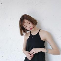 Váy yếm cotton đen