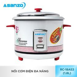 NồI cơm điện đa năng Asanzo RC-18AS3 - 1.8 lít