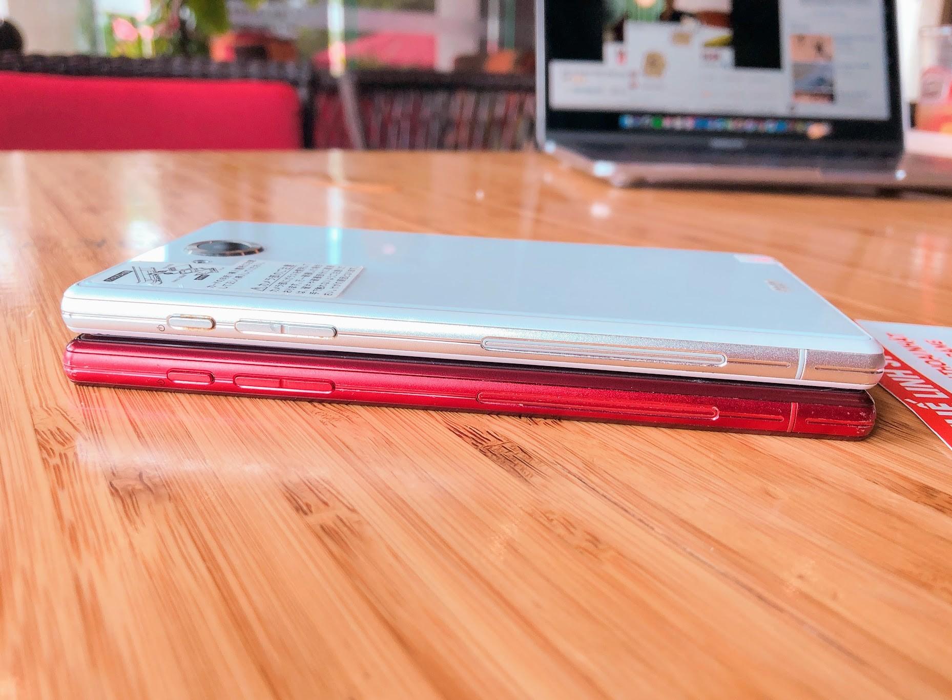 Điện thoại Nhật Sharp Aquos Xx 404SH - Màn 5 7 Ram 3G 32G