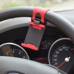 Giá đỡ kẹp điện thoại trên vô lăng tay lái ô tô