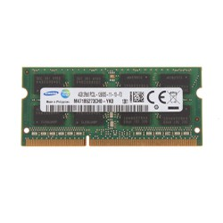 Ram Laptop Samsung 4GB 1600 DDR3L PC3L-12800s 1.35v