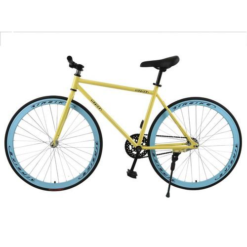 Xe đạp Fixed Gear Air Bike MK78  vàng - 7878103 , 11316833 , 15_11316833 , 1490000 , Xe-dap-Fixed-Gear-Air-Bike-MK78-vang-15_11316833 , sendo.vn , Xe đạp Fixed Gear Air Bike MK78  vàng