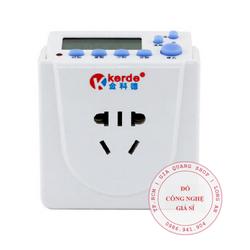 Ổ cắm hẹn giờ Tắt – Mở lập trình điện tử Kerde TW-L12