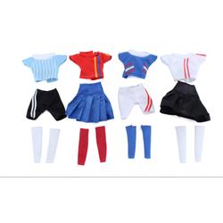 set4 bộ trang phục thể thao cho búp bê
