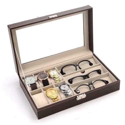 HOT Hộp đựng đồng hồ và kính mắt
