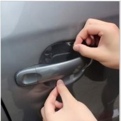 Bộ 4 miếng dán chống xước tay cửa xe ô tô HQ PLaza  T239I