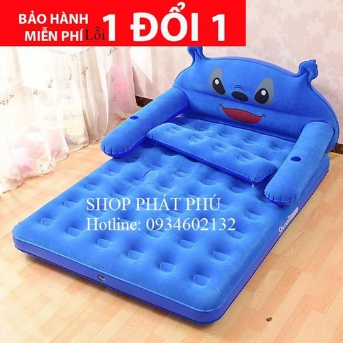 Giường hơi - Giường hơi cao cấp hình Totoro - đệm hơi