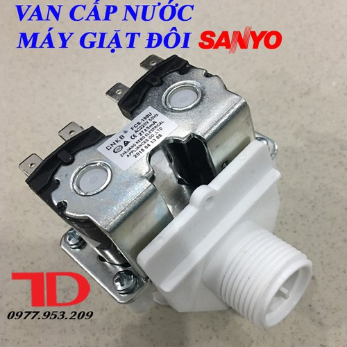 Van cấp nước máy giặt đôi SANYO - 5123668 , 11326931 , 15_11326931 , 400000 , Van-cap-nuoc-may-giat-doi-SANYO-15_11326931 , sendo.vn , Van cấp nước máy giặt đôi SANYO