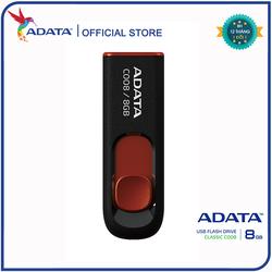 USB Adata C008 8GB 2.0 Đen đỏ