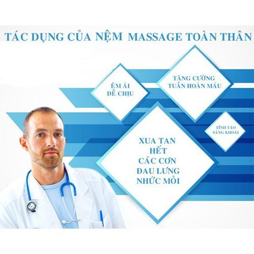 Ghế massage toàn thân 30 bi hồng ngoại DELUXE NHẬT BẢN