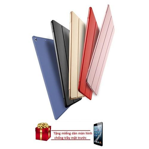 Bao da kiêm ốp lưng iPad New 2017 tặng miếng dán màn hình chống trầy