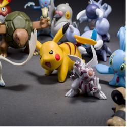 Bộ 72 tượng thú Pokemon Go cao-3cm ngẫu nhiên T391I nhiều màu