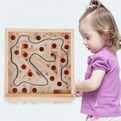 Hộp gỗ đồ chơi lăn bi mê cung - 4627101 , 13934343 , 15_13934343 , 45000 , Hop-go-do-choi-lan-bi-me-cung-15_13934343 , sendo.vn , Hộp gỗ đồ chơi lăn bi mê cung