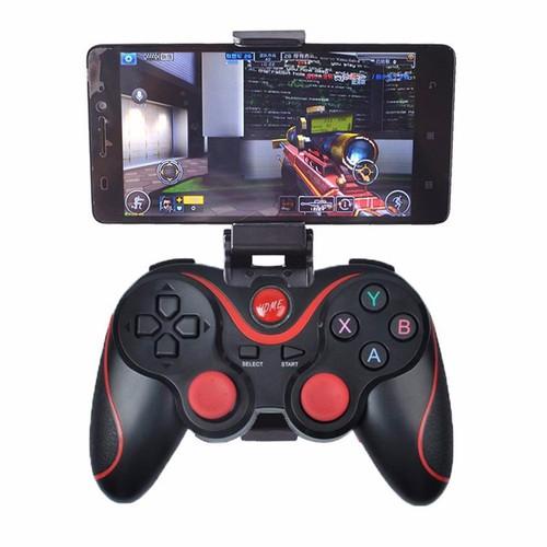 Tay Cầm Chơi Game Bluetooth Kèm Giá Đỡ  Terios X3