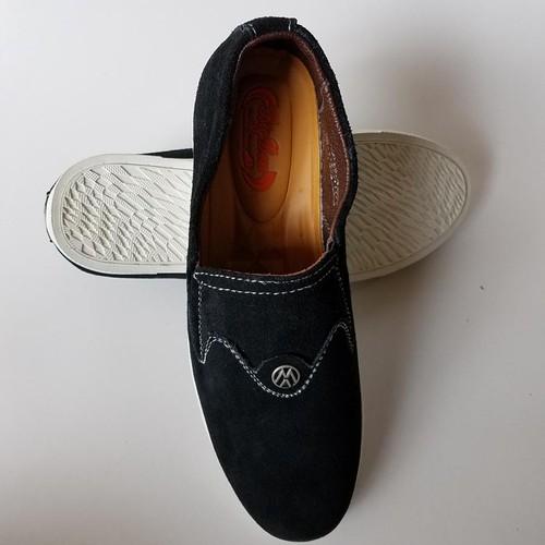 Giày Mọi Nam BIGBEN da bò thật cao cấp màu Đen GM49 - 10831409 , 11350181 , 15_11350181 , 579000 , Giay-Moi-Nam-BIGBEN-da-bo-that-cao-cap-mau-Den-GM49-15_11350181 , sendo.vn , Giày Mọi Nam BIGBEN da bò thật cao cấp màu Đen GM49
