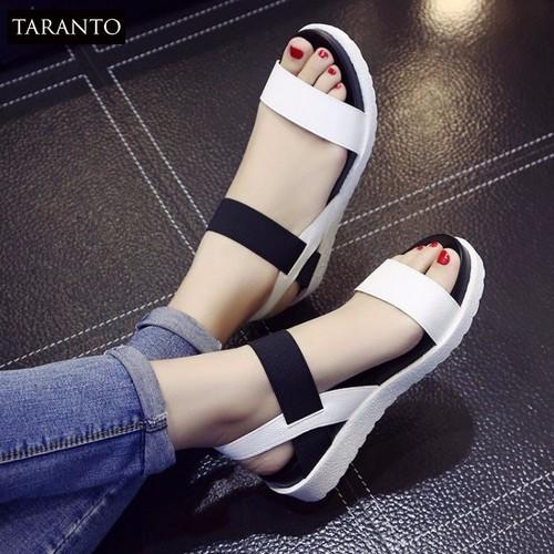 Sandal nữ phong cách Hàn Quốc TARANTO TRT-SDNU-02| Giày Sandal nữ