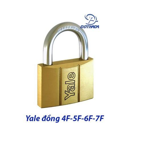Khóa Yale V140.40 - Đồng - Hàng chính hãng