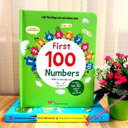 Sách Lật mở khám phá 100 số đếm đầu tiên