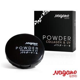 Phấn nền Collagen Nagano 10g - Nagano Powder Cake 10g - Thành phần Collagen và chất chống nắng giúp dưỡng và bảo vệ da hiệu quả - NG1028