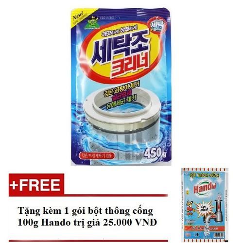 Bột vệ sinh lồng máy giặt Hàn Quốc tặng bột thông cống - 10828926 , 11341103 , 15_11341103 , 69000 , Bot-ve-sinh-long-may-giat-Han-Quoc-tang-bot-thong-cong-15_11341103 , sendo.vn , Bột vệ sinh lồng máy giặt Hàn Quốc tặng bột thông cống