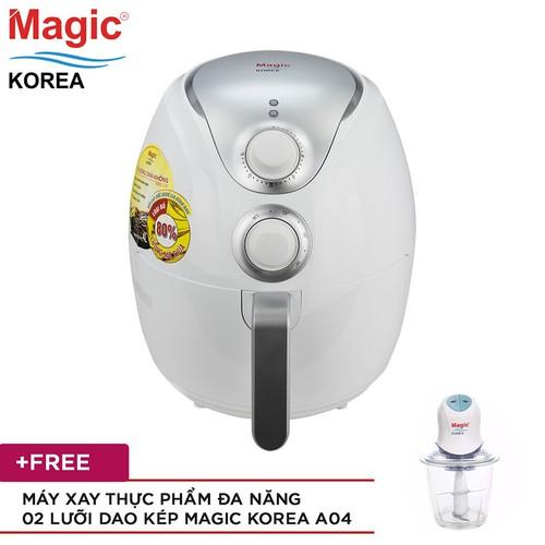 Nồi chiên nướng Magic Korea A78 4 lít Tặng Máy xay Magic Korea A04