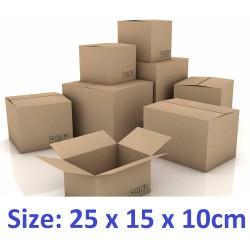 40 thùng carton hộp carton  25x15x10cm