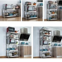 Kệ nhà bếp inox - Kệ phòng bếp - Giá để bếp - Tủ nhà bếp