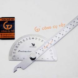 Thước đo góc độ 15cm